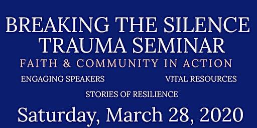 Breaking the Silence Seminar - Denver NC