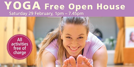 Yoga Free Open House tickets