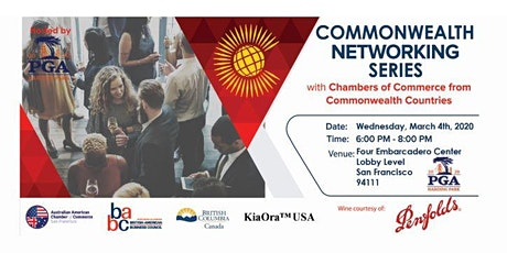 Commonwealth Networking Series 2020 tickets