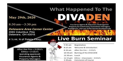 What Happened to the DIVA DEN? 2020 Live Burn Seminar