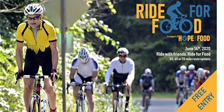 Ride For Food - Charity Bike Ride in support of Hope for Food tickets