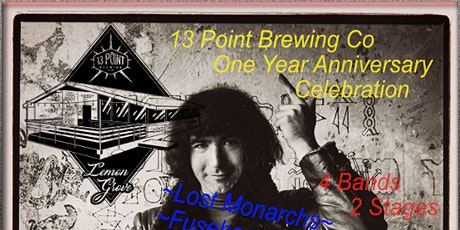 13 Point Brewing Co. One Year Anniversary VIP Package   tickets
