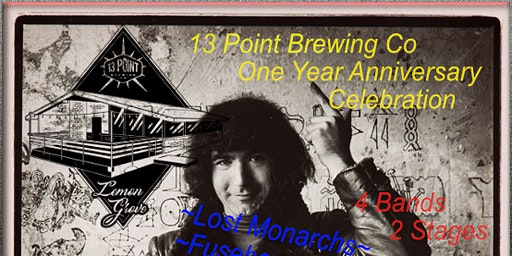 13 Point Brewing Co. One Year Anniversary VIP Package
