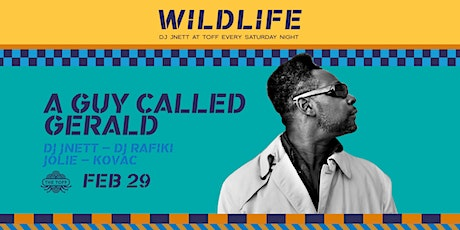 WILDLIFE ft. A Guy Called Gerald & DJ JNETT tickets