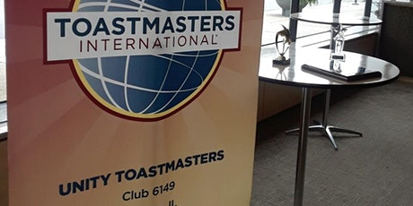 Unity Toastmasters Public Speaking tickets