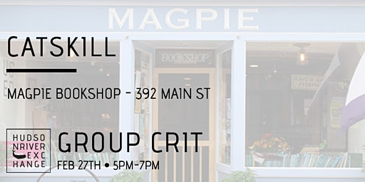 Group Crit at Magpie Bookshop - February