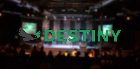 Destiny 2020 tickets