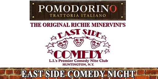 Richie Minervini returns to Pomodorino in Huntington: 9:30PM Showtime