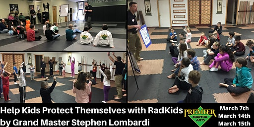 RadKids with Grand Master Stephen Lombardi