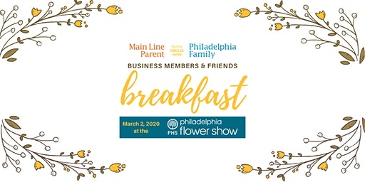 Business Members & Friends Breakfast at The Flower Show