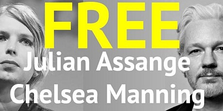 Free Julian Assange and Chelsea Manning tickets