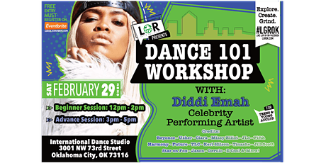 LGR Presents Dance 101 w/ Diddi Emah tickets