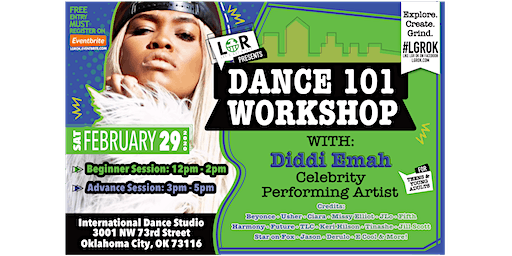 LGR Presents Dance 101 w/ Diddi Emah