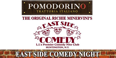 Richie Minervini returns to Pomodorino in Huntington: 9:30PM Showtime tickets