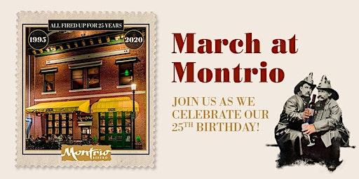 Montrio Bistro's 25th Anniversary Dinner