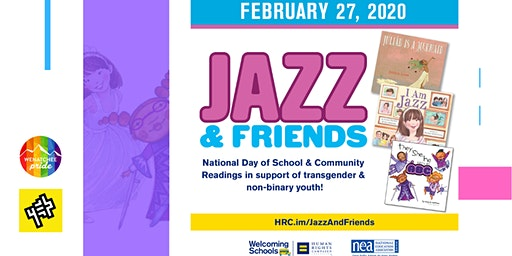 Jazz and  Friends |  National Day of School and Community Readings