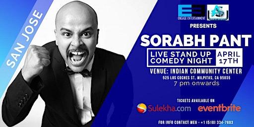 Sorabh PANT USA TOUR