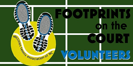 Footprints on the Court Volunteers 2020 tickets