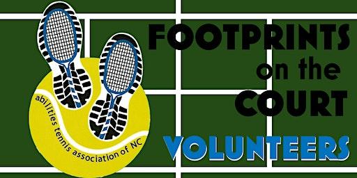 Footprints on the Court Volunteers 2020