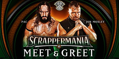 ScrapperMania 6 Meet And Greet, Jon Moxley and Pac