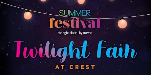 Twilight Fair at CREST