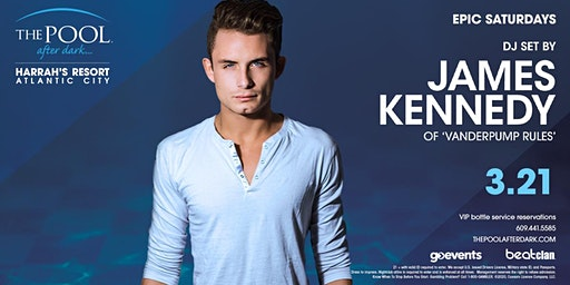 James Kennedy | Epic Saturdays at The Pool REDUCED Guestlist