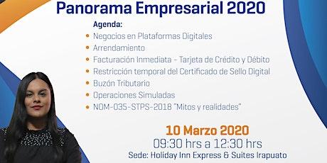 PANORAMA EMPRESARIAL 2020   REFORMAS FISCALES & MITOS DE LA NOM-035-STPS-2018 boletos