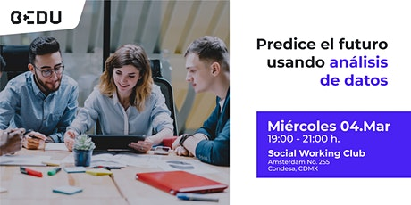 Predice el futuro usando análisis de datos entradas