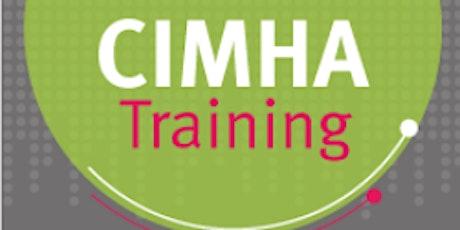 CIMHA Training - New User (In-patient MHU Staff) tickets