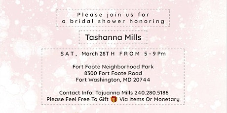 A Bridal Shower for Shannie tickets