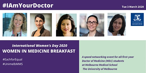 #I Am Your Doctor: IWD Women in Medicine Breakfast