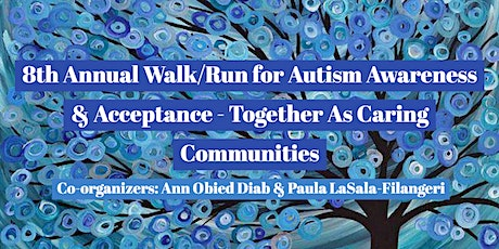 8th Annual Walk/Run for Autism Awareness and Acceptance - Together As Caring Communities  tickets