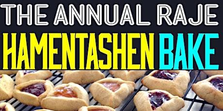 The Annual RAJE Hamentashen Bake tickets