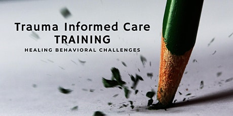 Healing Behavioral Challenges : Trauma Informed Care Training tickets