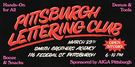 Open House: Pittsburgh Lettering Club hosted by Smith Brothers Agency tickets