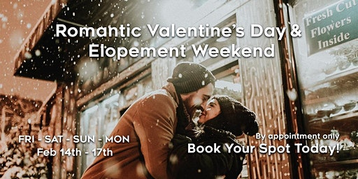 Romantic Valentine's Day Elopement Weekend