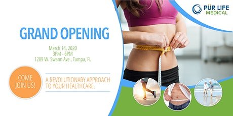 Grand Opening Celebration - PurLife Medical tickets