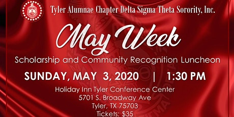 May Week Scholarship and Community Recognition Luncheon tickets