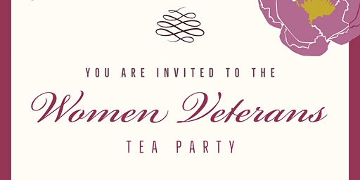 Women Veterans Tea Party