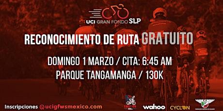 Reconocimiento de ruta UCI Gran Fondo San Luis Potosí boletos
