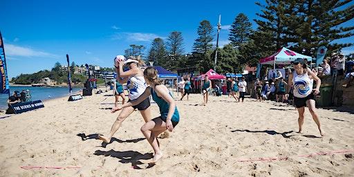 Australian Beach Netball - Manly