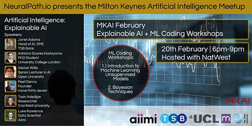 MKAI February | Artificial Intelligence Meetup | Explainable AI