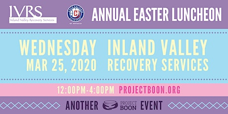 IVRS Annual Easter Event- Volunteers Needed tickets