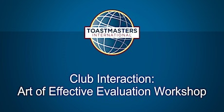 The  Art of Effective Evaluation tickets