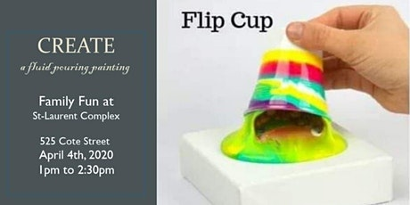 Create Your Own Fluid Paint Pouring  tickets