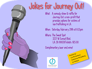 Jokes for Journey Out tickets