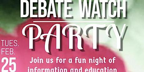 Debate Watch Party tickets