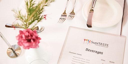 SuniTASTE Restaurant Evening Service Tuesday 3 March