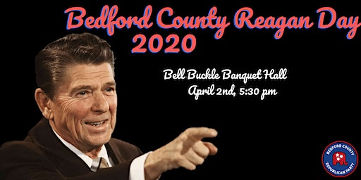 Bedford County Reagan Day Dinner 2020