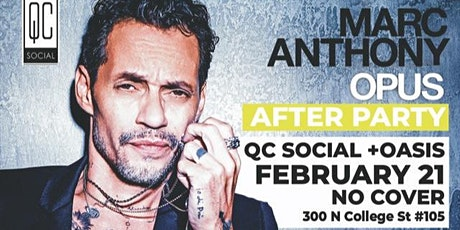 Marc Anthony concert after party tickets